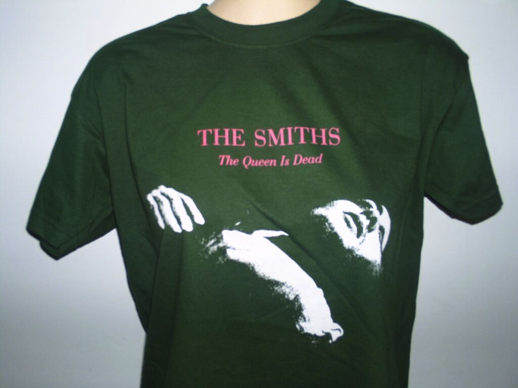 the smiths the queen is dead shirt in Clothing,