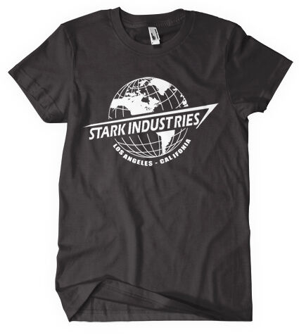 SHIRT AVENGERS ASSEMBLE STARK INDUSTRIES MARVEL COMIC DVD BLURAY GAME