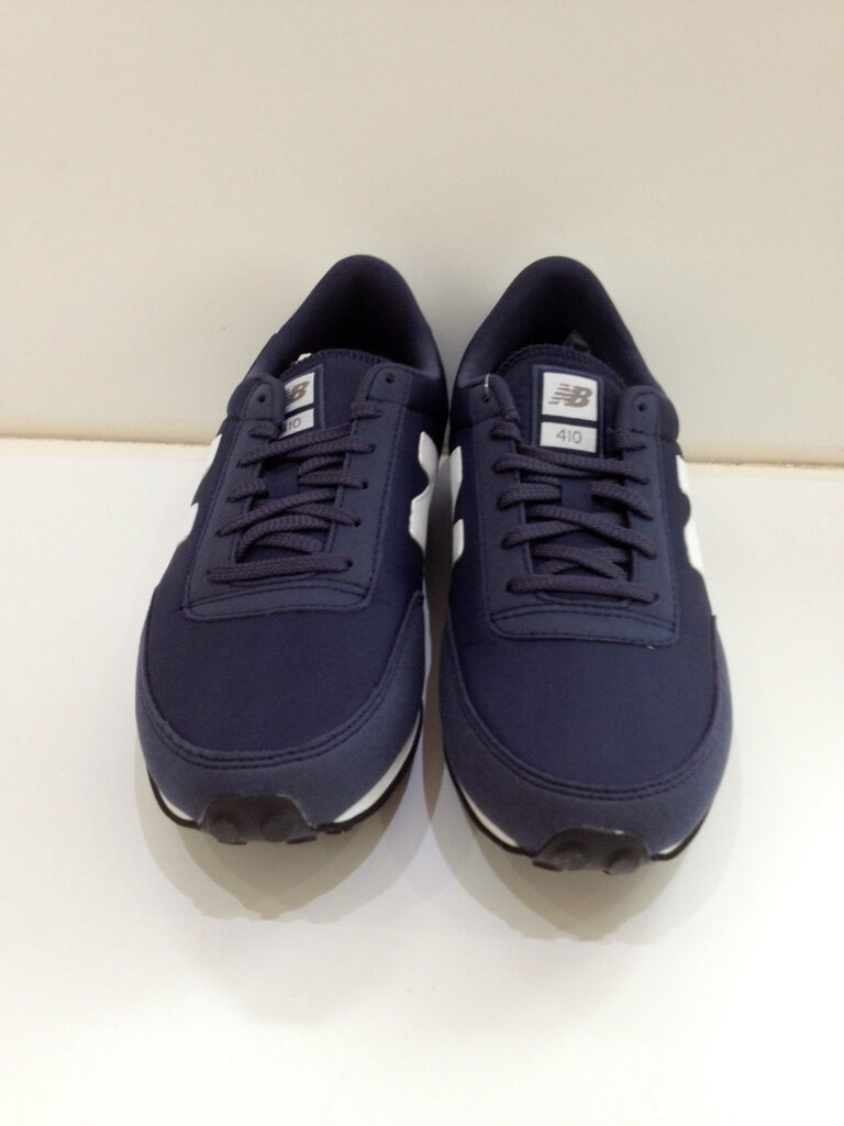 competitive price ec7ee 306d0 New Balance 410 Navy Mens Trainers Sneakers UK8 10