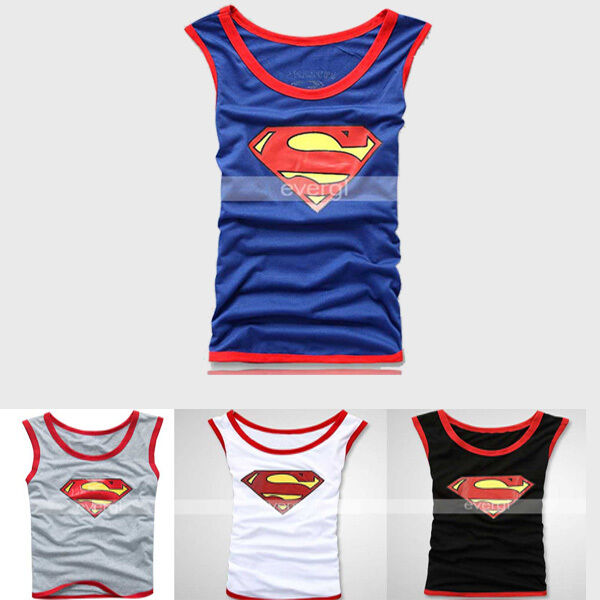 d4d92a2d9fec5 SUPERMAN MENS VEST SINGLET UNDERWEAR TANK TOP T SHIRT 3 size 4 color ...