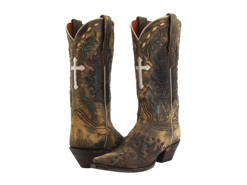 Luxury  Dan Post Cowboy Certified Womens Tan Leather Cowboy Boots Feature A