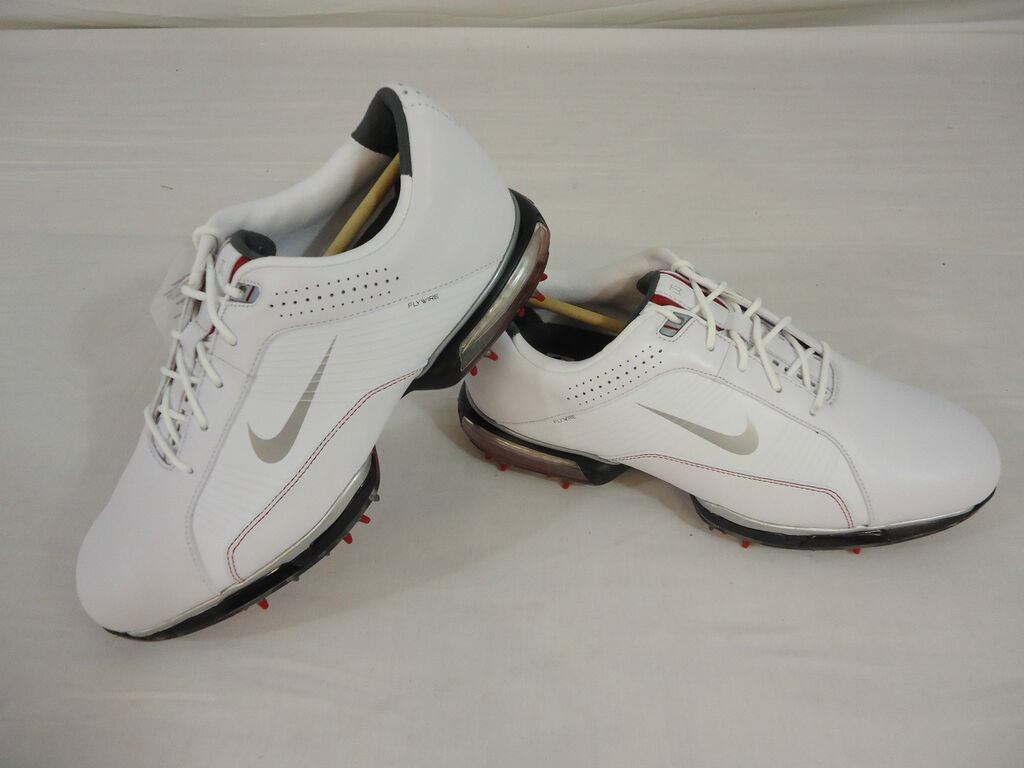 NEW NIKE ZOOM TIGER WOODS TW 2012 MENS GOLF SHOES (WHITE) PICK YOUR ... fc8e6226e