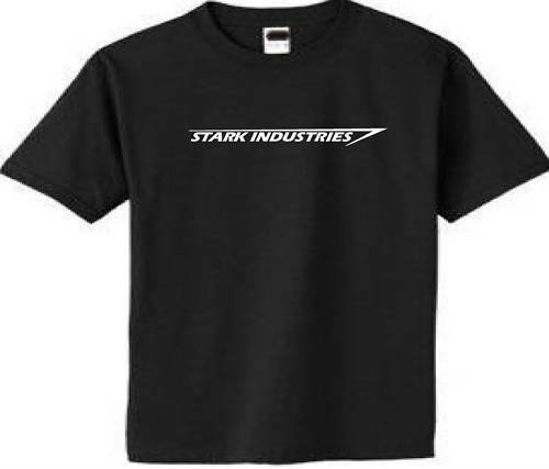 stark industries t shirt tee marvel ironman tee comics more
