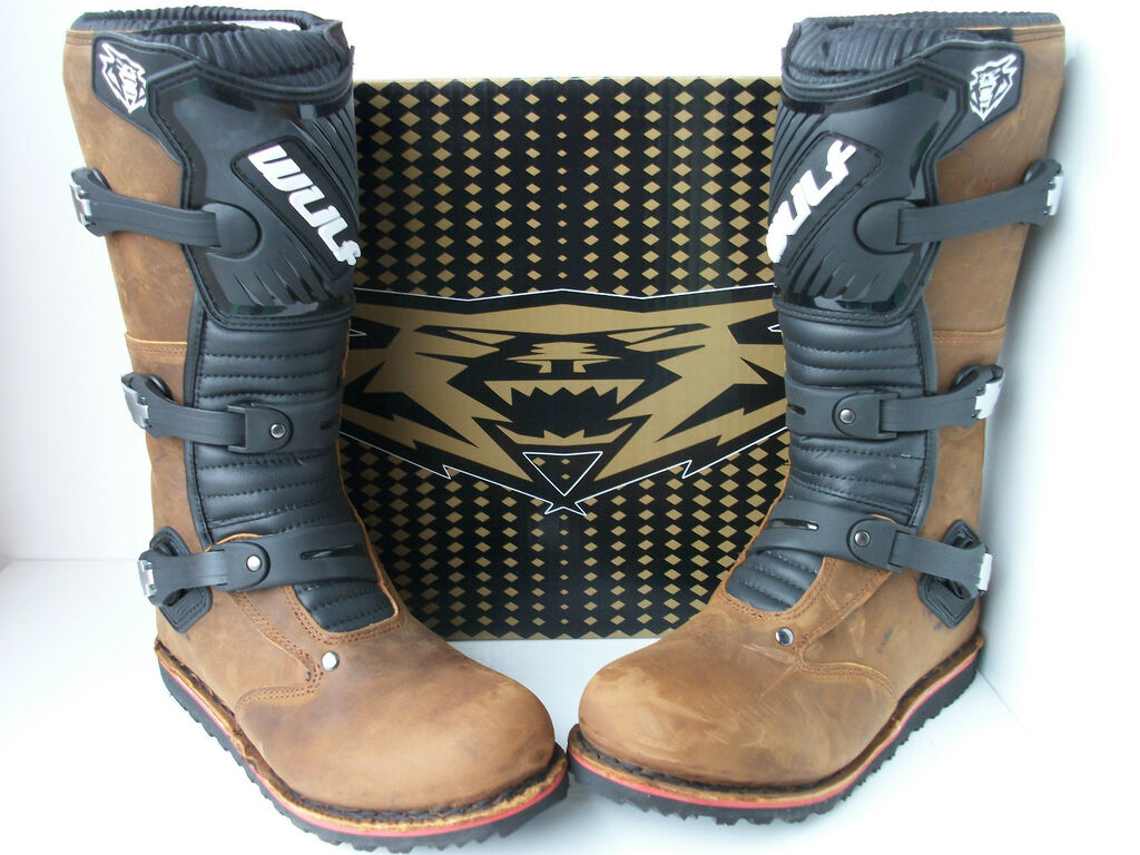 WULF TRIALS BOOTS (ALL SIZES) BETA MONTESA GAS GAS HEBO OSSA