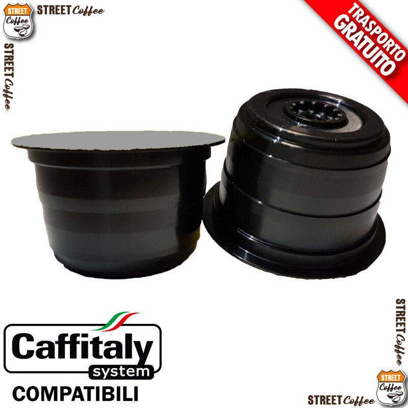 100 cialde capsule caffe streetcoffee strong compatibile caffitaly caff italy h 