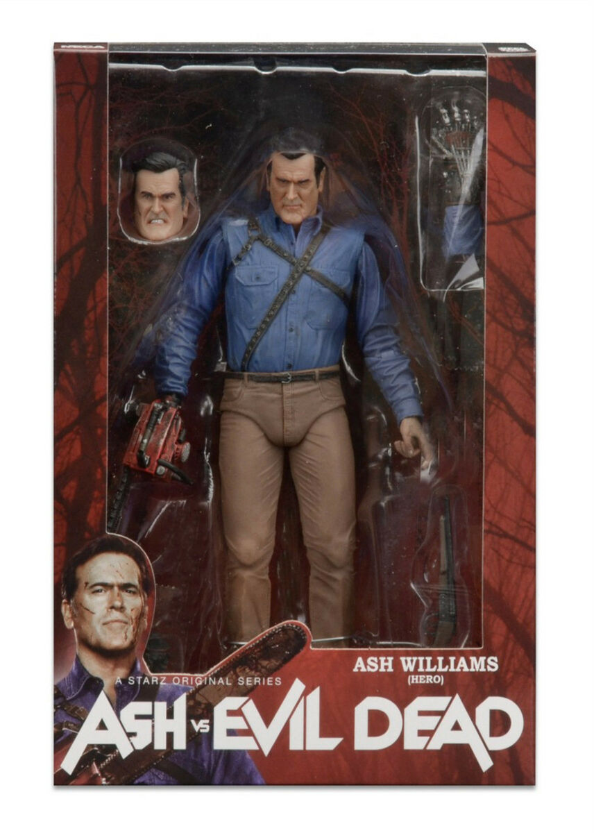 Ash vs evil dead tv series 1 ash williams hero la casa neca molto raro 