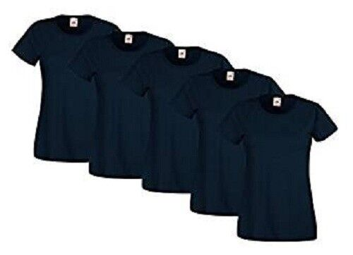 Fruit of the loom valueweight t shirt donna pacco da 5 Prezzo: € 17,49