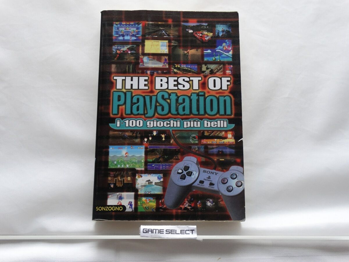 The best of playstation i 100 giochi pi belli sony ps1 libro rcs sonzogno 