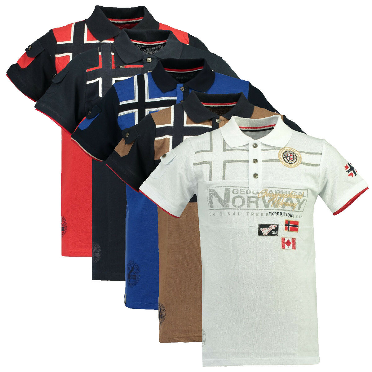 Polo geographical norway uomo men anapurna karadok homme cotone 