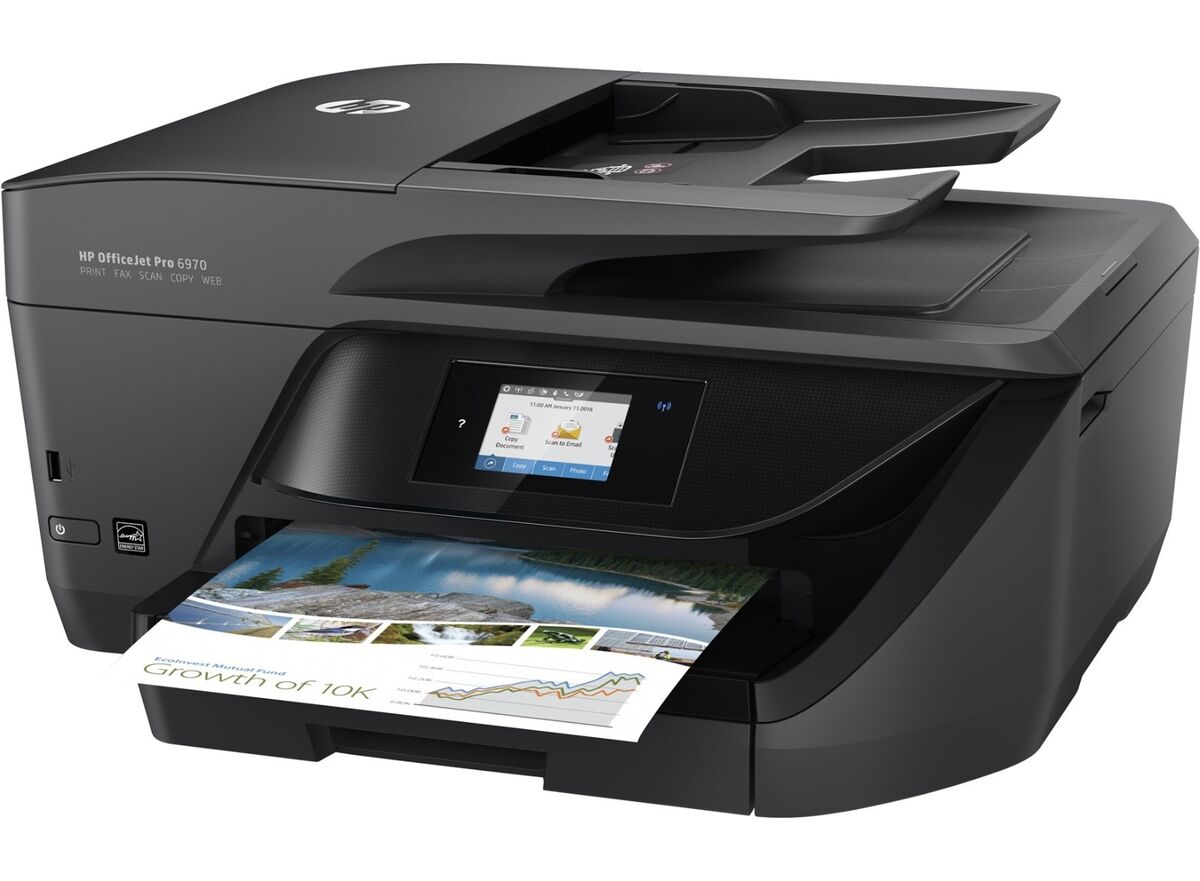 multifunzione hp office jet 6970 t0f33a scanner copier printer fax 