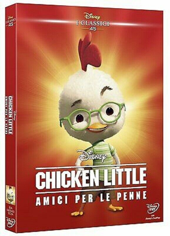 Chicken little amici per le penne disney dvd film i classici 45 nuovo italiano 