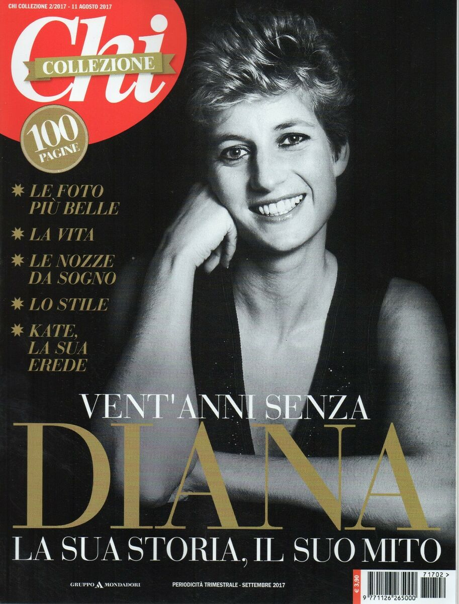 Chi collezione 2017 2 lady diana spencer 98 pages about her Prezzo: € 11,99