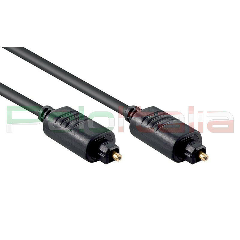 Cavo da 1 a 20m audio toslink maschio ottico digitale spdif fibra optical cable 