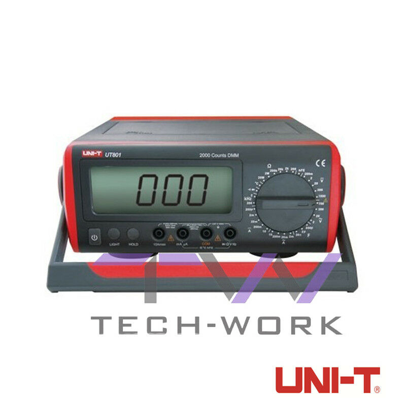 Uni t tester tensione multimetro digitale ut801 da laboratorio professionale 
