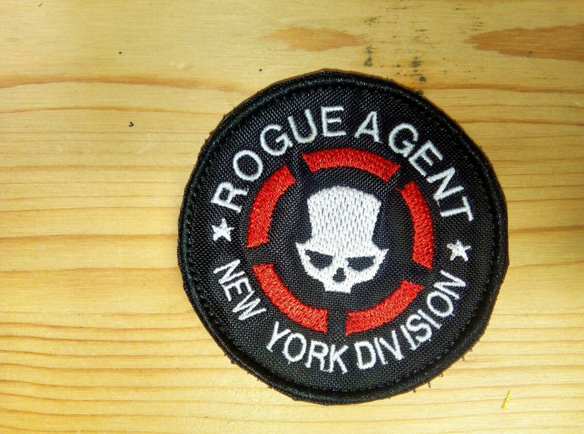 Toppa patch rogue agent rainbow six the division airsoft softair cosplay Prezzo: € 4,05