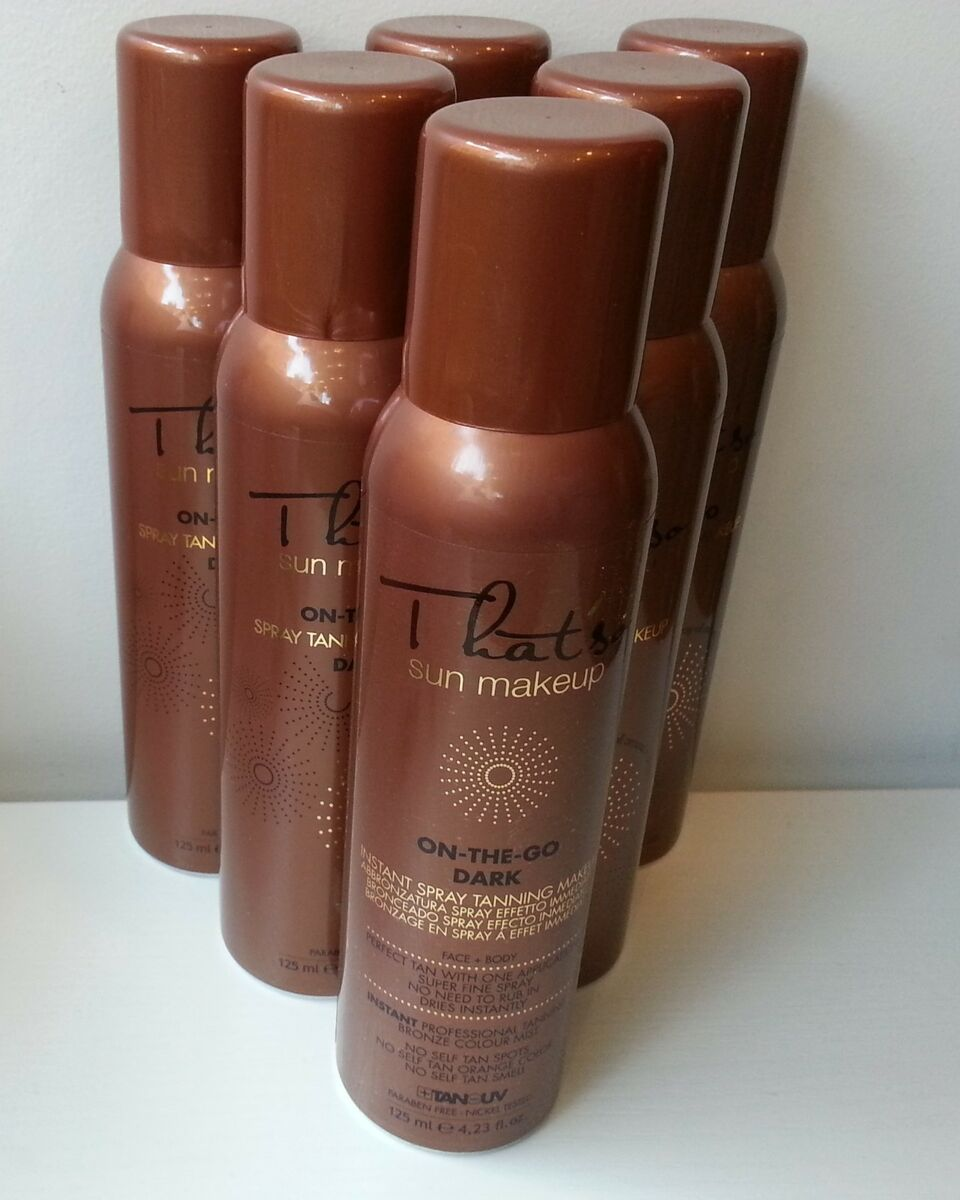 6 that so abbronzatura spray on the go con dha colore dark 125ml 