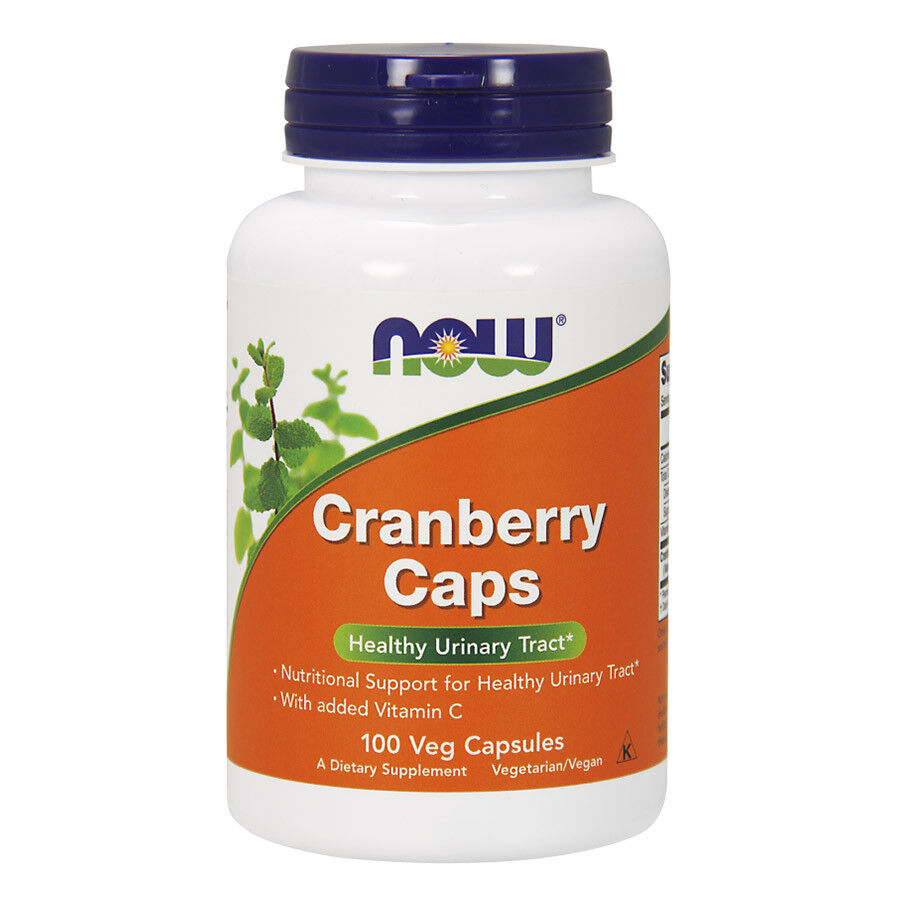 Now foods cranberry concentrate 100 caps salute del tratto urinario 