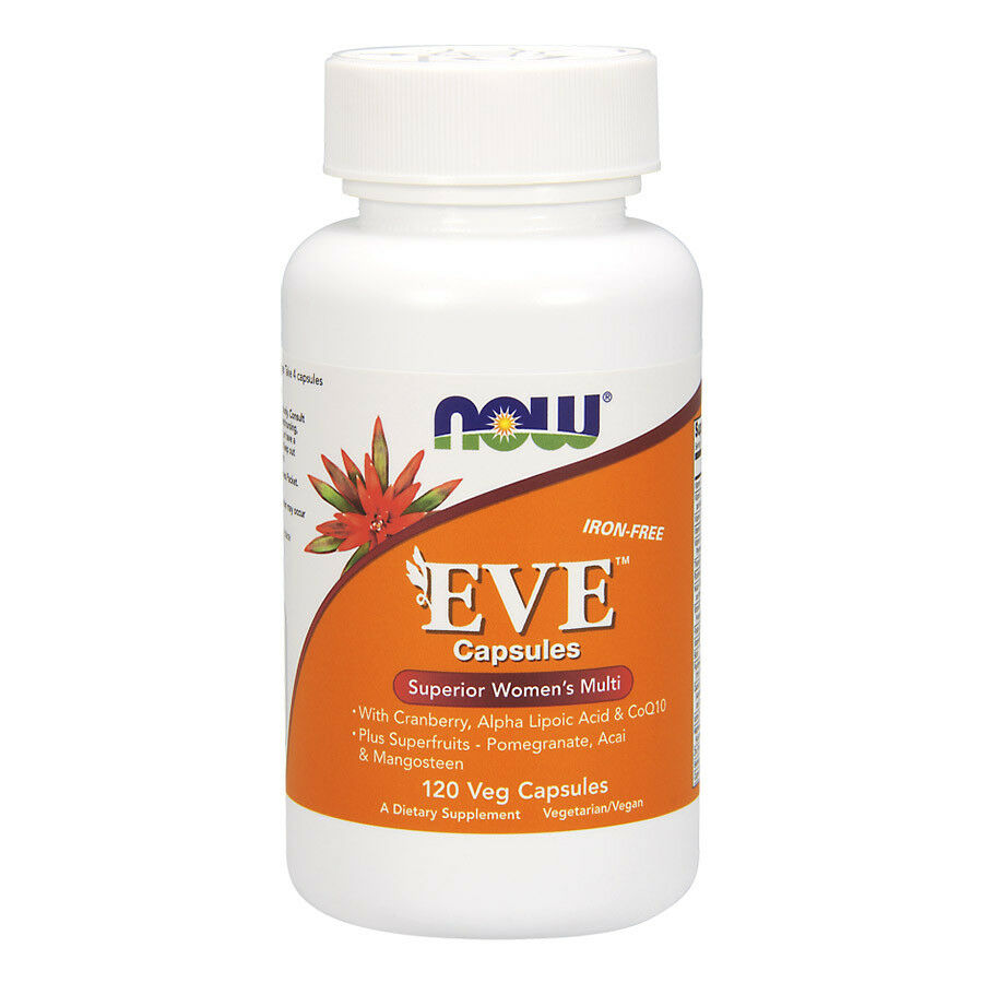 Now foods eve superior women s multi 120 vegcaps vitamine 