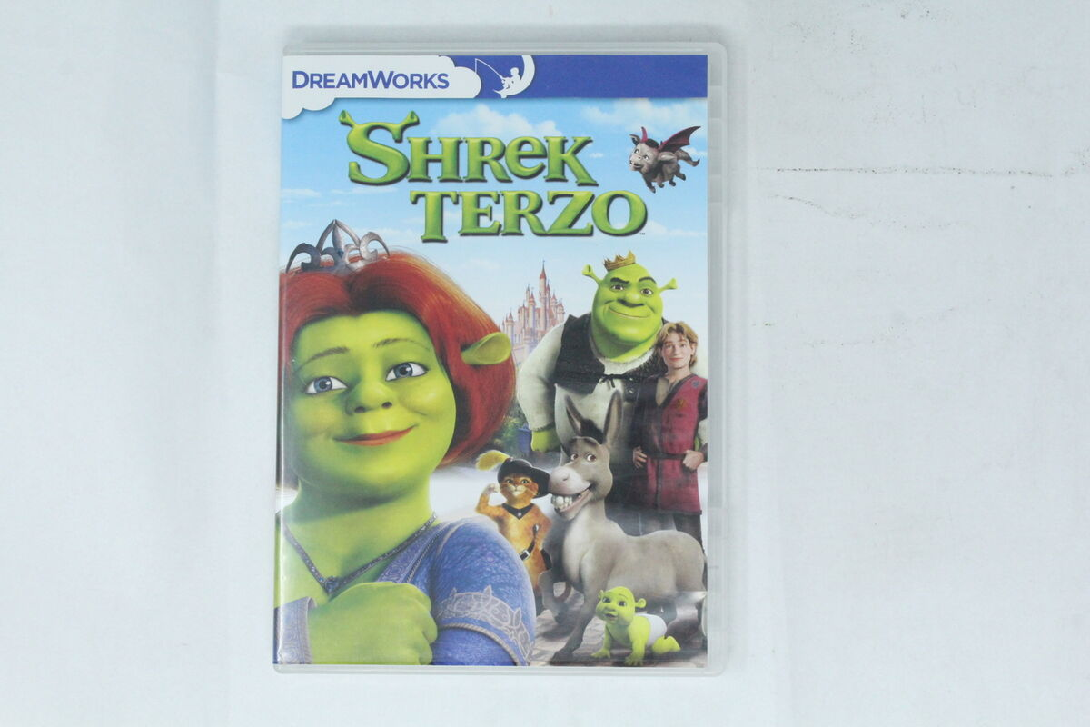 Dvd shrek terzo dream works 2007 si 003 