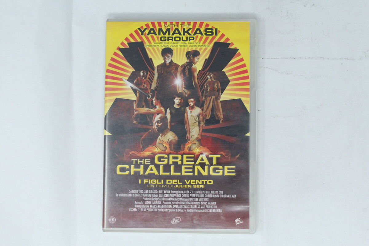 Dvd the great challenge vegas multimedia julien seri si 007 