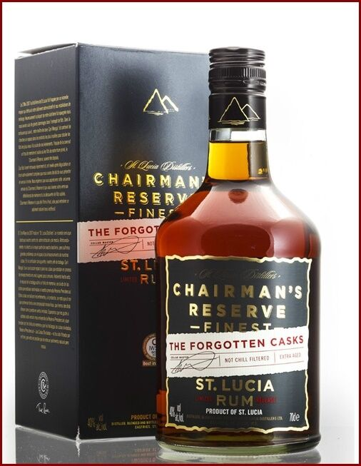 Rum chairman s reserve finest the forgotten casks st lucia not chill 
