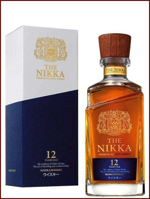 1 b the nikka 12 years old premium blended whisky 70 cl 43 