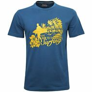 KAPPA T-SHIRT Uomo Run To The Waves Surfing WIRU Spiaggia Mc.corta Nuovo X5Tvox