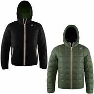K-WAY GIACCA UOMO JACQUES THERMO PLUS DOUBLE imbottita Aut/inv New KWAY F88lotsy