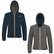 K-WAY FELPE BAMBINA giacca Aut/inv reverse pile LILY POLAR New KWAY 907qzlwiec