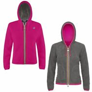 K-WAY FELPE BAMBINA GIACCA aut/inv reverse Pile LILY POLAR New KWAY Nuovo 916dxi