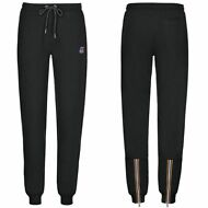 K-WAY Pantaloni DONNA ROSE FRENCH TERRY KWAY sportivi Prv/Est summer Nero K02auu
