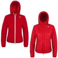 K-WAY EDEN LIGHT THERMO DOUBLE Imbottito giacca reverse DONNA leggera KWAY XB0vh