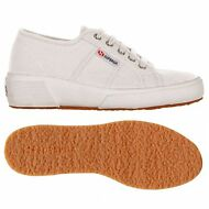 SUPERGA zeppa scarpe Donna Sottop:4cm 2905 COTW UP AND DOWN BIANCO new 901eognow
