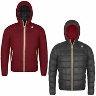K-WAY GIACCA UOMO DOUBLE imbottita JACQUES THERMO PLUS Aut/inv new KWAY 927fbmob