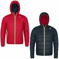 K-WAY GIACCA BAMBINO DOUBLE imbottita JACQUES THERMO PLUS aut/inv new KWAY AF8ij