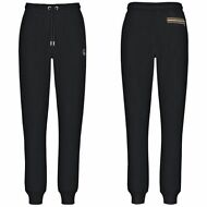 K-WAY PANTALONE DONNA in Felpa MAITE FLEECE SPORTIVO nero 2tasche KWAY New K02gb