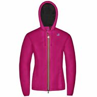 K-WAY LILY NYLON JERSEY giacca DONNA CAPPUCCIO Impermeabile Prv/Est KWAY Z11hpbf