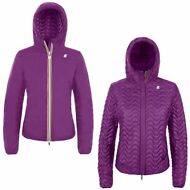 K-WAY EDEN LIGHT THERMO DOUBLE giubbotto Imbottito reverse giacca DONNA KWAY X43