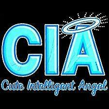 CIA CUTE ANGEL T-SHIRTS GIFT NOVELTY JUNIORS LITHO LD