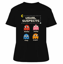 Usual Suspects Ghosts 80's Video Game T Shirt