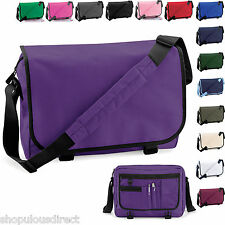 Messenger Bag Work Dispatch Laptop College Courier School Mens Ladies Shoulder