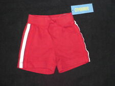 NWT GYMBOREE SHARK COVE RED CASUAL SHORTS ATHLETIC 3 6