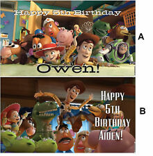 NOW $29.95!! Custom Disney Toy Story 3 Birthday Party Banner Decorations