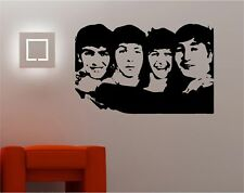 The Beatles fab four WALL ART vinyl art sticker lounge