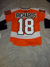 MIKE RICHARDS #18 PHILADELPHIA FLYERS CAPTAIN NHL YOUTH JERSEY FREE SHIPPING