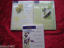Packs of 6 Easter Cards By Hallmark Cards