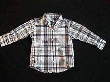 NWT GYMBOREE GOLF PRO SPRING SOCIAL EASTER BLUE PLAID BUTTON DOWN SHIRT TOP