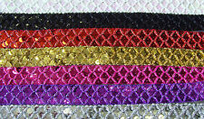 SEQUIN BRAID - FULL 10 METRE CARD x 22mm - WEDDING,DANCE,STAGE, ICE COSTUMES ETC