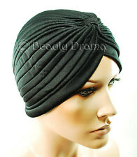 Dream Turban Hat Retro Style Black-Red-Blue-Purple-Pink-White-Yellow-Navy-Gray