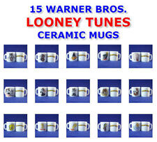 NEW RETIRED WARNER BROS LOONEY TUNES MINI CERAMIC GLOSS MUG - YOU PICK ONE MUG
